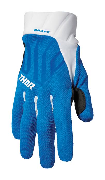 Thor Crosshandschoenen 2022 Draft - Blauw / Wit