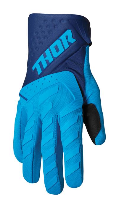 Thor Kinder Crosshandschoenen 2022 Spectrum - Blauw / Navy