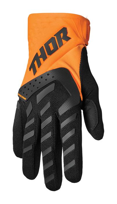 Thor Kinder Crosshandschoenen 2022 Spectrum - Oranje / Zwart