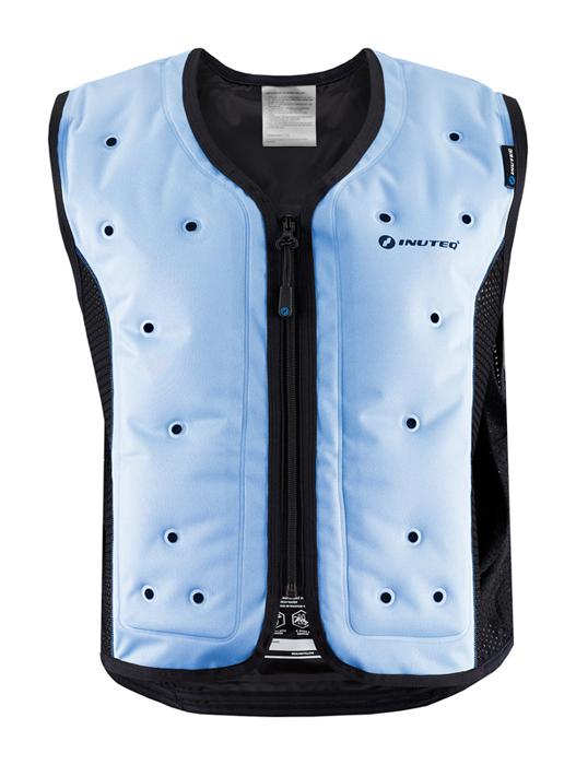 Inuteq Koelvest Bodycool Smart - Blauw / Zwart