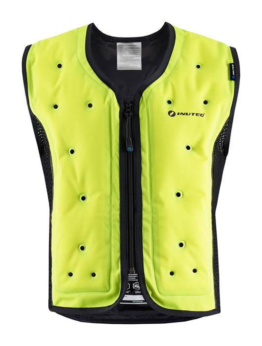 Inuteq Koelvest Bodycool Smart - Geel / Zwart