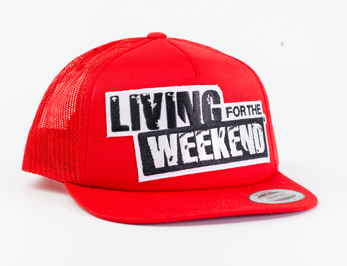 LFTW Pet Snapback Royal Trucker - Rood