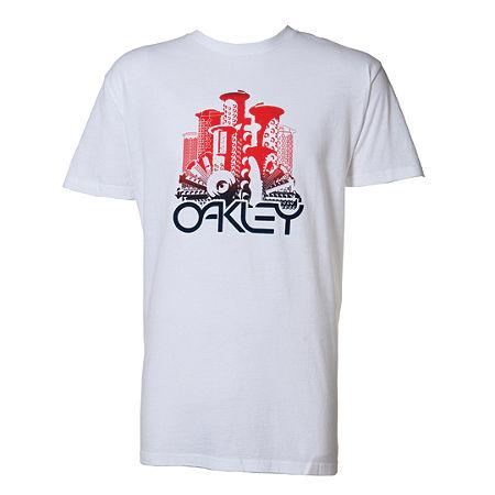 Oakley T-Shirt City Grip - Wit
