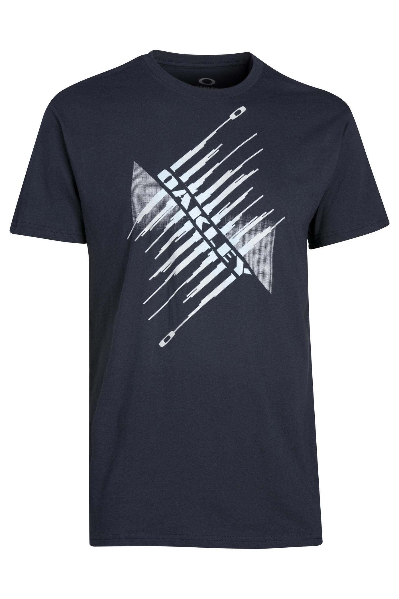 Oakley T-Shirt Sustainable - Navy Blauw